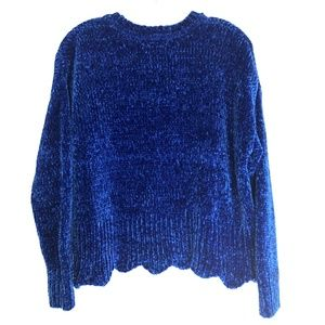 Cynthia Rowley Cobalt Blue Pullover Sweater - M